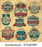 collection of premium quality... | Shutterstock .eps vector #97039589