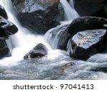 Beautiful Waterfall In A...