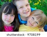 happy faces | Shutterstock . vector #9708199