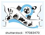 helpful supplier explaining... | Shutterstock .eps vector #97083470
