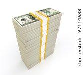 Us Dollars Banknotes Money...