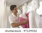 Shop Assistant Dressing A...