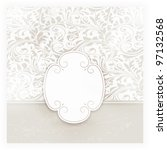 invitation  anniversary card... | Shutterstock . vector #97132568