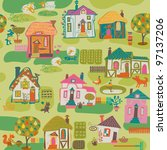 child's background | Shutterstock .eps vector #97137206