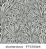 seamless floral pattern | Shutterstock .eps vector #97153364