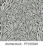 seamless floral pattern | Shutterstock .eps vector #97153364