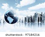 information technology... | Shutterstock . vector #97184216