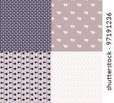 vegetative pattern | Shutterstock .eps vector #97191236