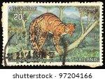 thailand   circa 1986  stamp... | Shutterstock . vector #97204166