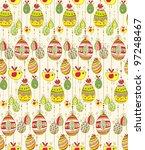 doodle decorative colorful eggs ... | Shutterstock .eps vector #97248467