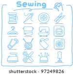 pure series   hand drawn sewing ...