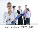 successful business woman... | Shutterstock . vector #97251908