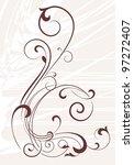 decorative corner   element for ... | Shutterstock .eps vector #97272407
