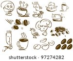 a pack of vector illustrations... | Shutterstock .eps vector #97274282