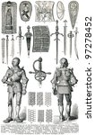knight's armor and weapons.... | Shutterstock . vector #97278452