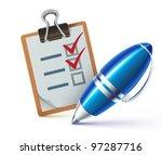 vector illustration of a... | Shutterstock .eps vector #97287716