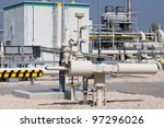 detail of a refinery in the oil ... | Shutterstock . vector #97296026