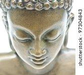 Buddha Portrait Isolated On...
