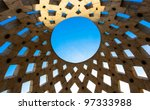 roof of a building with blue sky | Shutterstock . vector #97333988