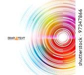 vector technology background...   Shutterstock .eps vector #97347866