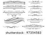different design elementes for... | Shutterstock .eps vector #97354583