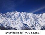 Mt. Goryudake  Snow Covered...