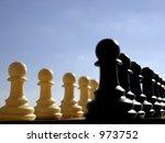 chess | Shutterstock . vector #973752