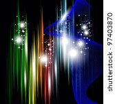 abstract background in dark... | Shutterstock .eps vector #97403870