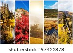 autumn scene - stock photo