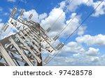 power transmission line. high...   Shutterstock . vector #97428578
