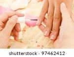 nail polish   Shutterstock . vector #97462412