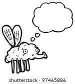 cartoon fly | Shutterstock . vector #97465886