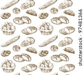 bread  bakery   hand drawn...   Shutterstock .eps vector #97481366