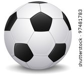 detailed soccer ball  football... | Shutterstock . vector #97481783