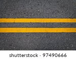 Road Marking   Double Yellow...