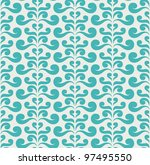 Vector Curly Seamless Pattern