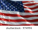 national flag of the united... | Shutterstock . vector #974994