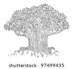 tree | Shutterstock .eps vector #97499435
