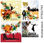 party vector background | Shutterstock .eps vector #97501793
