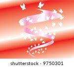 the waterspout of butterfly ... | Shutterstock .eps vector #9750301