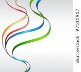 Abstract Background With Waved...