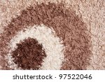 carpet with long pile background   Shutterstock . vector #97522046