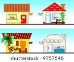 vector illustration for 4 type... | Shutterstock .eps vector #9757540