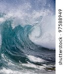 ocean wave | Shutterstock . vector #97588949