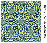 vector optical illusion spin... | Shutterstock .eps vector #97621958