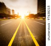 the city's streets and car   Shutterstock . vector #97638215