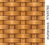 abstract decorative wooden... | Shutterstock .eps vector #97655783