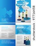 corporate business brochure... | Shutterstock .eps vector #97716458