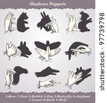 Shadows Puppets   Vintage...
