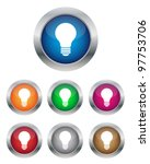 lamp buttons | Shutterstock .eps vector #97753706